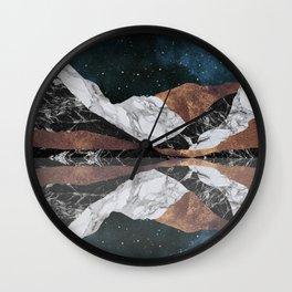 Landscape Mountains Wall Clock