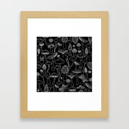 Marcella Mushrooms Framed Art Print