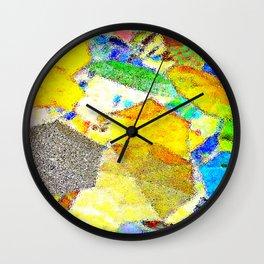 Gli Ombrelloni Di San Polo Wall Clock
