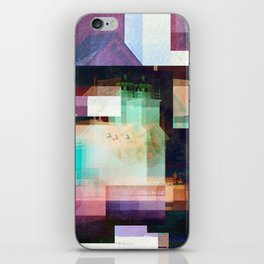 Lighthouse Abstract iPhone Skin