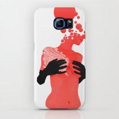 Black gloves Galaxy S7 Slim Case