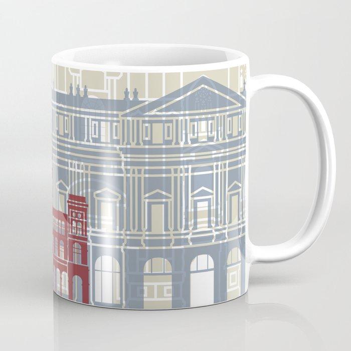 Milan skyline poster Coffee Mug