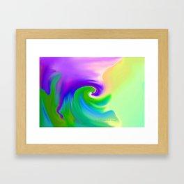 """""""Summer Garden #14"""" Print Framed Art Print"""