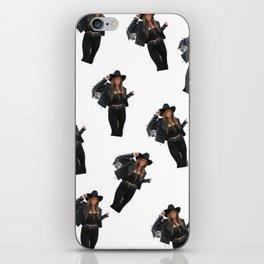 Vintage Cowgirl iPhone Skin