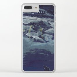 UFO Sighting Clear iPhone Case