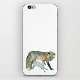 Fox and Hare iPhone Skin