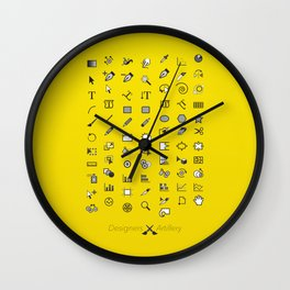 Designers Weapons Wall Clock