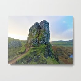 Scotland Fairy Glen Metal Print