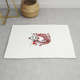 Love Yourself First - Typography Rug