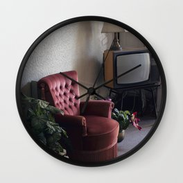 Stuck in moment Wall Clock