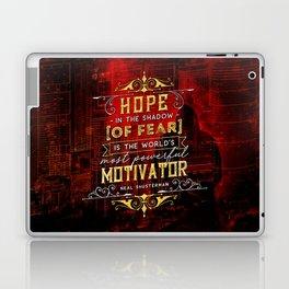 Hope in the shadow Laptop & iPad Skin