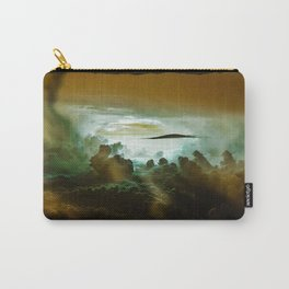 I Want To Believe - Gold Carry-All Pouch