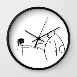 Fistbump! Wall Clock