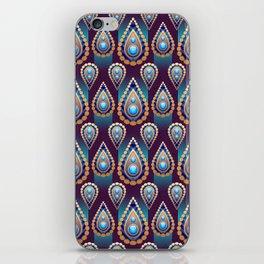 Turkish Blue iPhone Skin