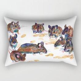 Mice Rectangular Pillow