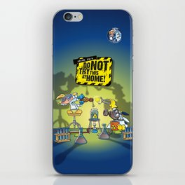 Anime 2015: Do Not Try This At Home! iPhone Skin