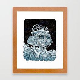 Darth's Treehouse  Framed Art Print