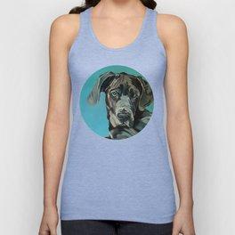 Great Dane Dog Portrait Unisex Tank Top