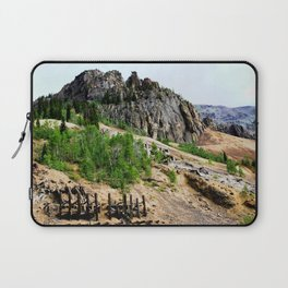Sunnyside Mill and Rocky Crags Towering Overhead Laptop Sleeve