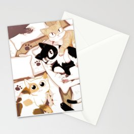 Let's Meow Together Stationery Cards