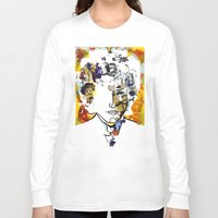 bob dylan Long Sleeve T-shirts featuring bob dylan by Chris Shockley - shock schism