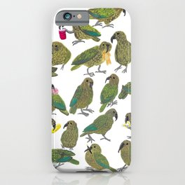 The Kea Took My Car Keys  iPhone Case