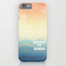 Return to Sender iPhone 6s Slim Case
