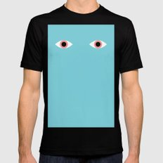 Eyes Black MEDIUM Mens Fitted Tee