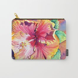 Tropical Hibiscus 13 Carry-All Pouch