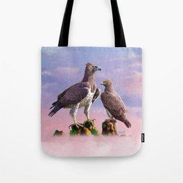 Martial Eagle Tote Bag