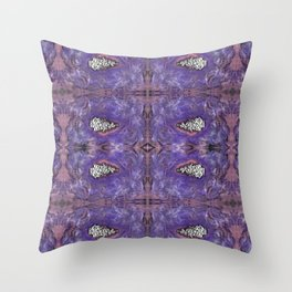 purr35 Throw Pillow