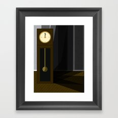 Just After Midnight Framed Art Print