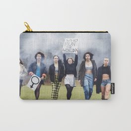 Who runs the world? GIRLS!  Carry-All Pouch