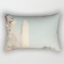 Spring in DC II Rectangular Pillow