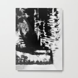 Self-Immolation Metal Print
