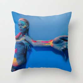 Your Body is Poetry Throw Pillow