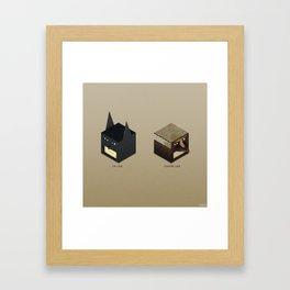 I'm Like / You're Like Super Hero Edition  Framed Art Print
