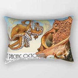 Giant Pacific Octopus Rectangular Pillow