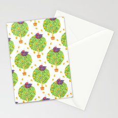 Partridge in a Pear Tree Pattern Stationery Cards
