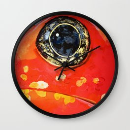 Little frog Wall Clock