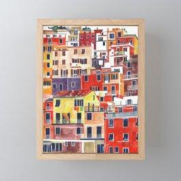 Cinque Terre vol 3 Framed Mini Art Print