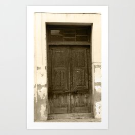 The Crooked Door Art Print