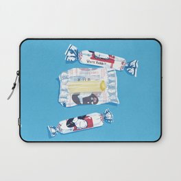 White Rabbit Candy 2 Laptop Sleeve