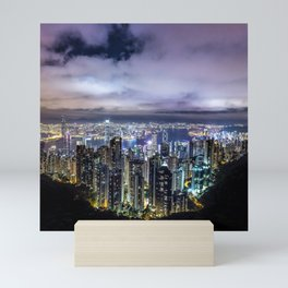 Kam Shan Country Park Cityscape, Hong Kong #2 Mini Art Print
