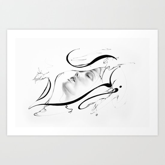 Line 3 Art Print