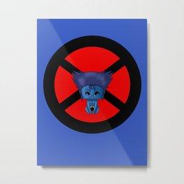 Chibi Beast Metal Print