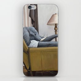 Elephant in the Room iPhone Skin