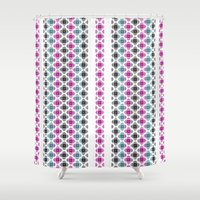 kilim Shower Curtains featuring Kilim by 603 Creative Studio