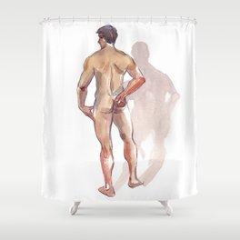 RENATO JR, Nude Male by Frank-Joseph Shower Curtain