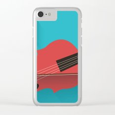 Violin Poster Clear iPhone Case